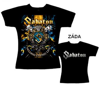 Sabaton - tričko dámské