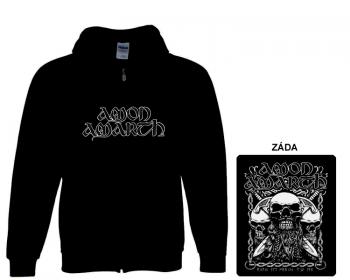 Amon Amarth - mikina s kapucí a zipem