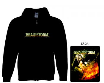 Brainstorm - mikina s kapucí a zipem