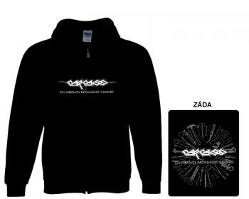 Carcass - mikina s kapucí a zipem