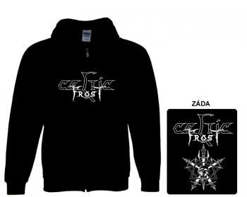 Celtic Frost - mikina s kapucí a zipem