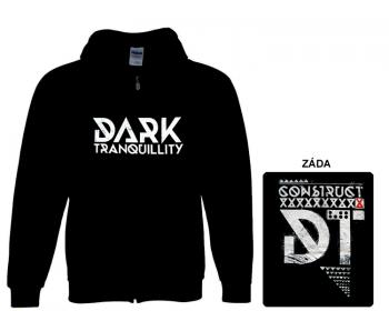 Dark Tranquillity - mikina s kapucí a zipem
