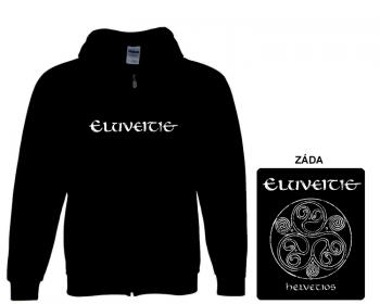 Eluveitie - mikina s kapucí a zipem
