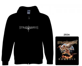 Stratovarius - mikina s kapucí a zipem
