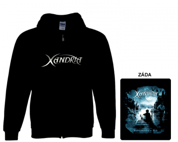 Xandria - mikina s kapucí a zipem