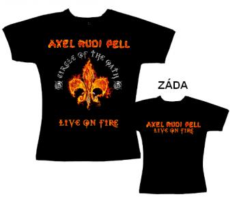 Axel Rudi Pell - tričko dámské