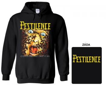 Pestilence - mikina s kapucí