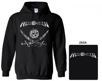Helloween - mikina s kapucí