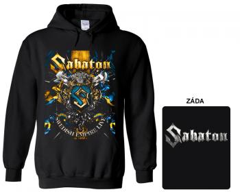 Sabaton - mikina s kapucí