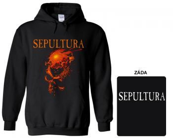 Sepultura - mikina s kapucí