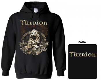 Therion - mikina s kapucí