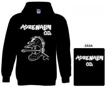 Adrenalin O.D. - mikina s kapucí