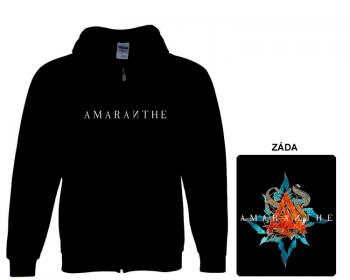 Amaranthe - mikina s kapucí a zipem