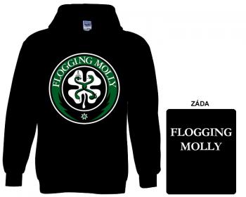 Flogging Molly - mikina s kapucí