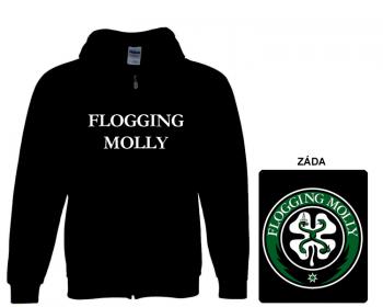 Flogging Molly - mikina s kapucí a zipem