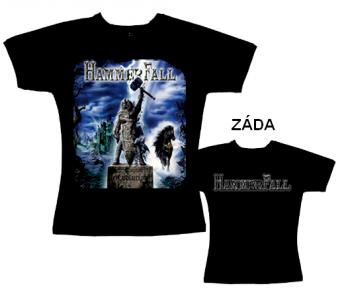 Hammerfall - tričko dámské