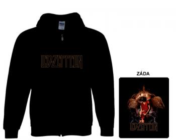 Led Zeppelin - mikina s kapucí a zipem
