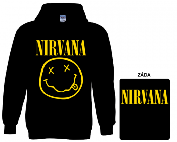 Nirvana - mikina s kapucí