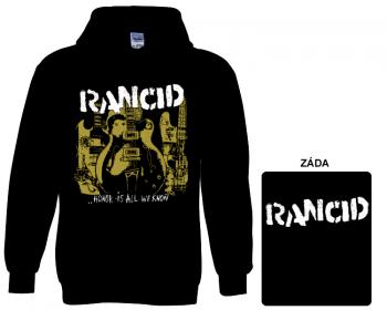 Rancid - mikina s kapucí