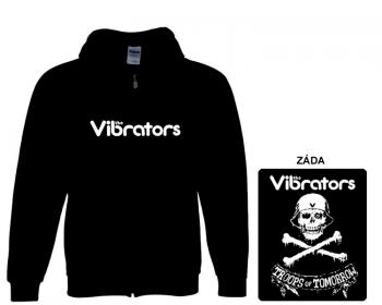 Vibrators - mikina s kapucí a zipem