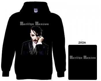 Marilyn Manson - mikina s kapucí