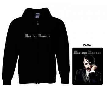 Marilyn Manson - mikina s kapucí a zipem