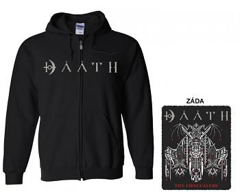 Daath - mikina s kapucí a zipem