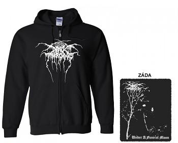 Dark Throne - mikina s kapucí a zipem