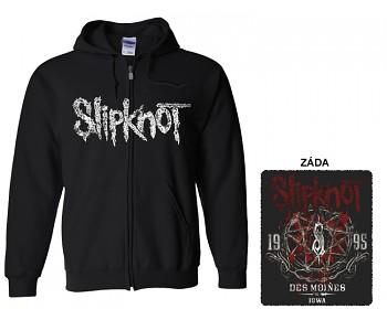 Slipknot - mikina s kapucí a zipem