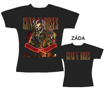 Guns N' Roses - dámské triko