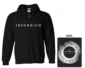 Insomnium - mikina s kapucí a zipem