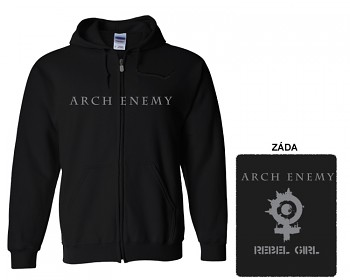 Arch Enemy - mikina s kapucí a zipem