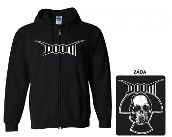 Doom - mikina s kapucí a zipem