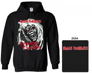 Iron Maiden- mikina s kapucí