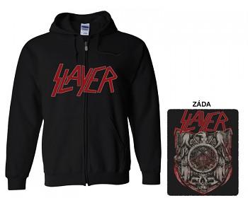 Slayer - mikina s kapucí a zipem