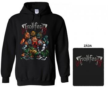 Trollfest - mikina s kapucí