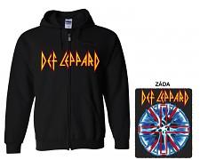 Def Leppard - mikina s kapucí a zipem