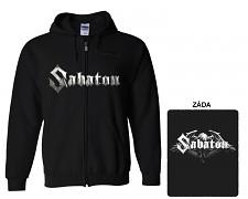 Sabaton - mikina s kapucí a zipem