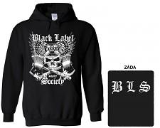 Black Label Society - mikina s kapucí