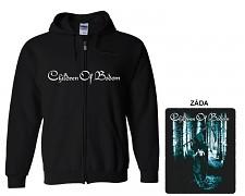 Children Of Bodom - mikina s kapucí a zipem
