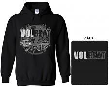 Volbeat - mikina s kapucí