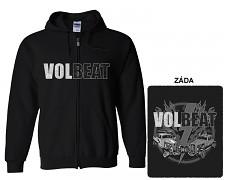 Volbeat - mikina s kapucí a zipem