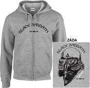 Black Sabbath - mikina s kapucí a zipem