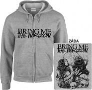 Bring Me The Horizon - mikina s kapucí a zipem