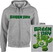 Green Day - mikina s kapucí a zipem