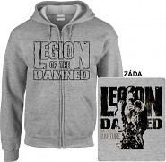 Legion Of The Damned - mikina s kapucí a zipem
