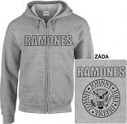 Ramones - mikina s kapucí a zipem