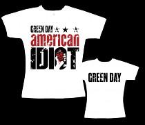 Green Day - dámské triko