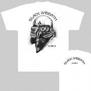 Black Sabbath - triko bílé