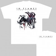 In Flames - triko bílé